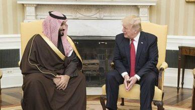 Trump-M-bin-Salman