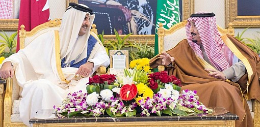 saudi-king-invites-qatar-amir-gcc-summit-dec-2018