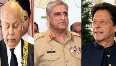 imrankhan-gen-bajwa-chief-justice-gulzar-ahmed